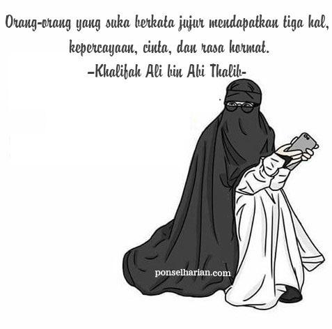 Dp Bbm Cartoon Muslimah Sedih  Adultcartoon.co
