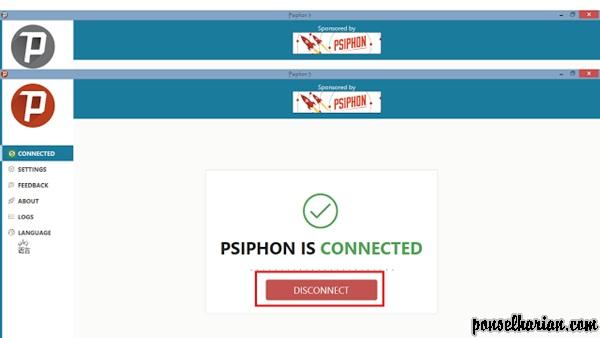 cara internet gratis menggunakan psiphon untuk windows di pc