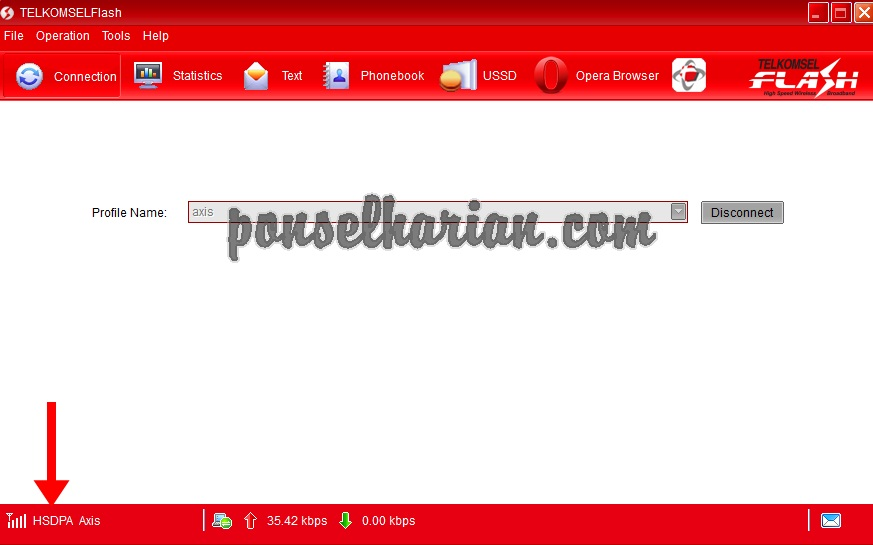 cara unlock modem telkomsel flash