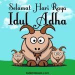 gambar kartun kambing kurban