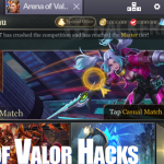 Cara Cheat Game Gold di Game Arena of Valor (AOV)