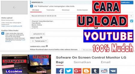 cara upload video youtube cepat