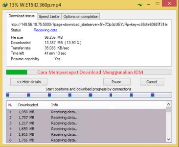 cara mempercepat download idm terbukti work di windows 7