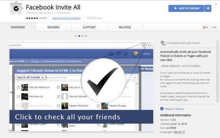 Cara Cepat Invite Semua Teman Untuk Like Fanspage