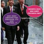 poto lucu presiden jokowi baru