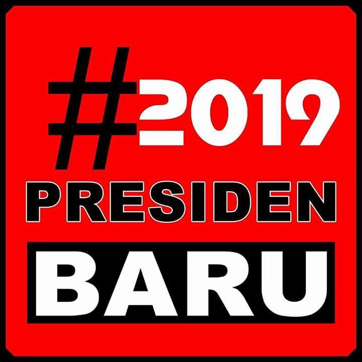 tagar ganti presiden 2019