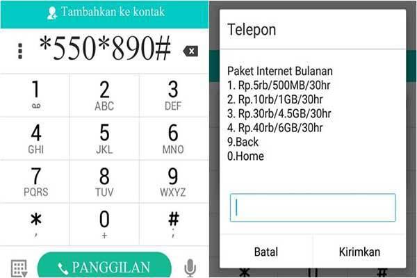 2 Paket Internet Murah Kartu Simpati Kuota Besar