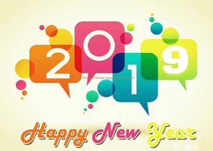 gambar animasi happy new year