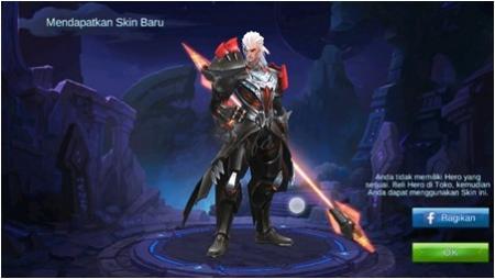 cara mendapatkan skin gratis mobile legends