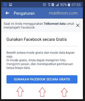 Cara Facebookan Gratis Di Hp Android
