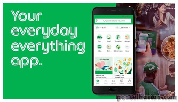 Aplikasi Ojek Online Grab