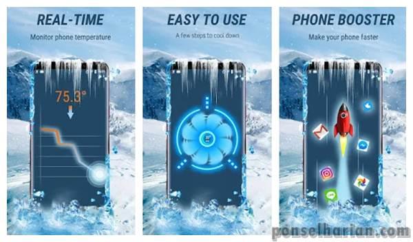 Aplikasi Pendingin Android - CPU cooler