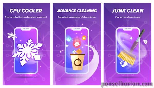 Aplikasi Pendingin Android - Finally clean