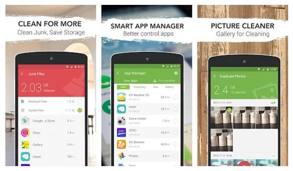 Aplikasi Pendingin Android - GO speed