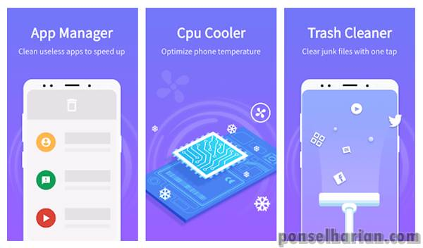 Aplikasi Pendingin Android - Super cleaner