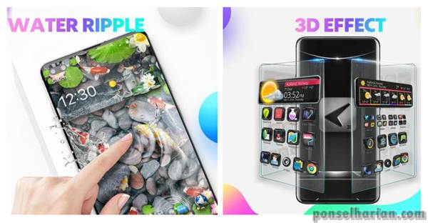 Aplikasi tema android - CM launcher 3D