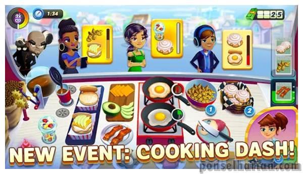 Game Simulasi Hotel Dinner dash
