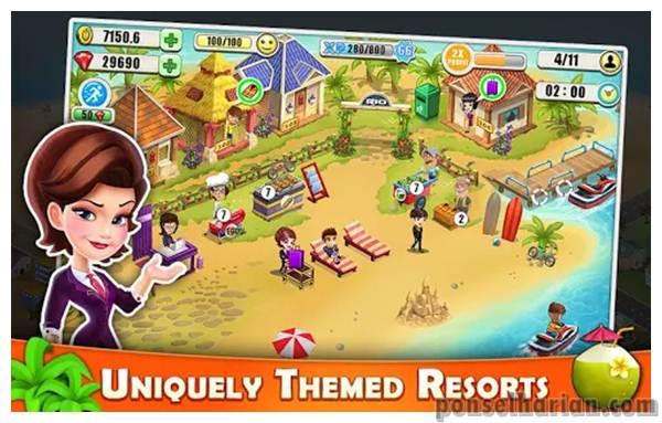 Game Simulasi Hotel Terbaik Resort Tycoon