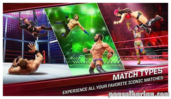 game smackdown WWE Mayhem