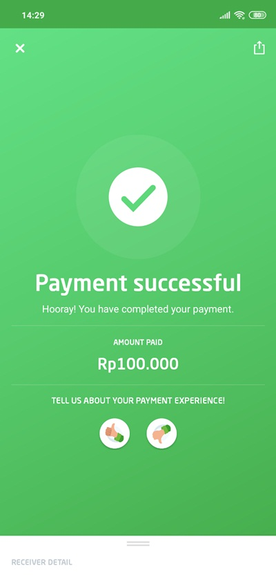 Cara Top Up UC di Coda Shop Dengan Go-Pay