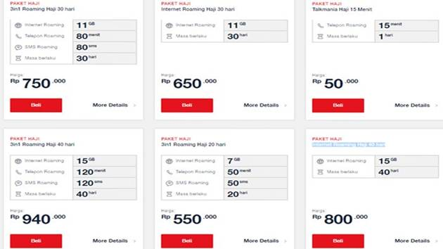 Paket Internet Haji Telkomsel Murah