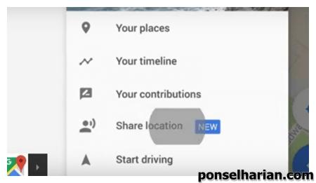 Cara Bagikan Lokasi Real Time Dari Google Maps