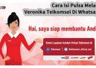 Cara Isi Pulsa Melalui Veronika Telkomsel Di Whatsapp