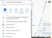 Cara Share Lokasi Google Maps di Android