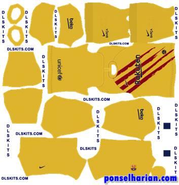 Barcelona Away Kits 2020-21