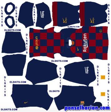 F.C. Barcelona Home Kits 2020-21