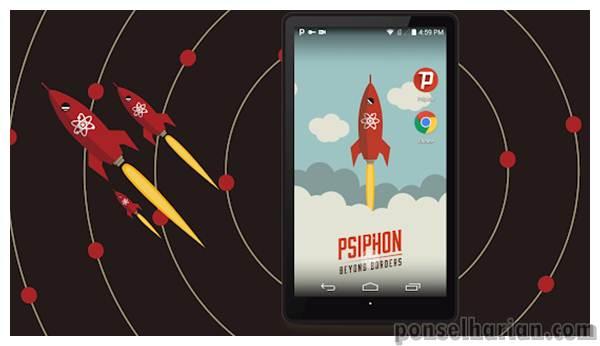 Internet gratis android - Psiphon Pro