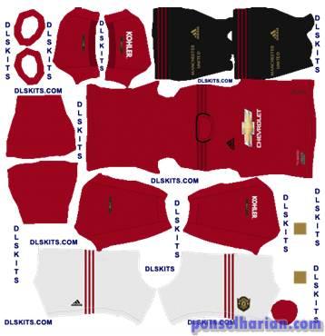 Manchester United Home Kits 2020-2021