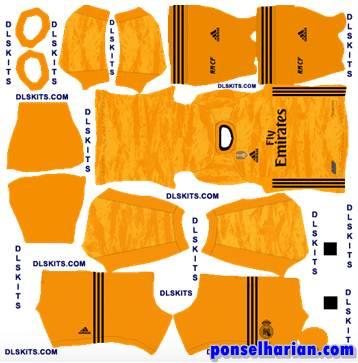 Real Madrid Goalkeeper Home Kit 2020-21