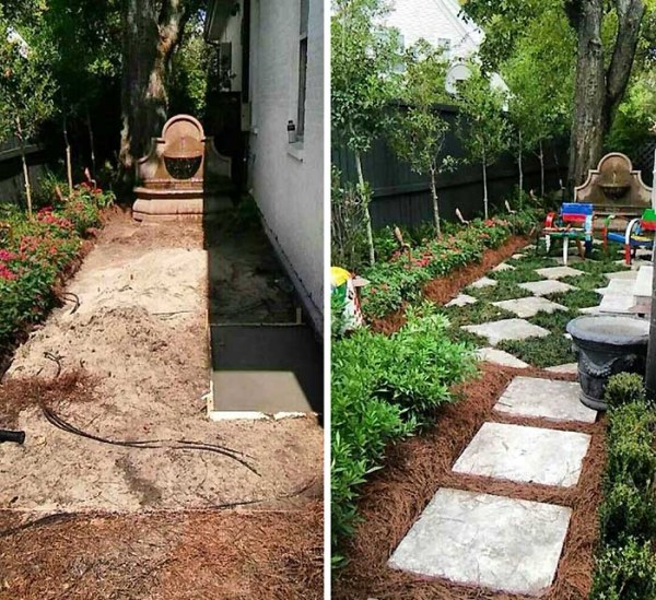 residential landscaping and lawn