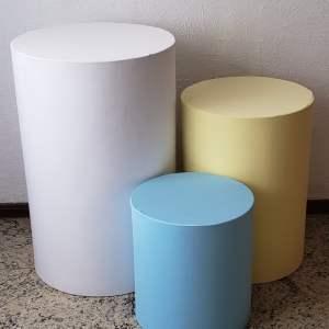 Capas para Trio mesas cilindro cores Candy 2