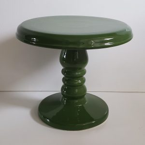 Suporte Boleira Cerâmica Verde Musgo G