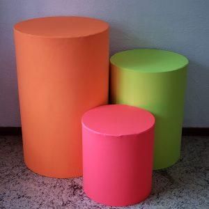 Neon Laranja/Amarelo/Rosa