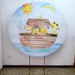Tecido Sublimado Arca de Noe