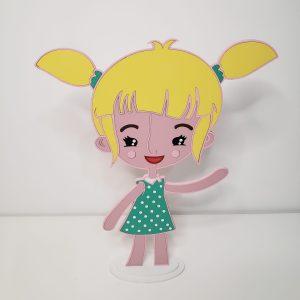Lila Mundo Bita 35 cm
