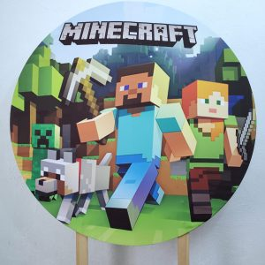 Tecido Sublimado Minecraft
