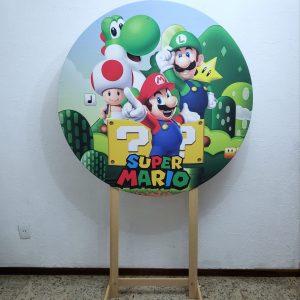 Tecido Sublimado Super Mario