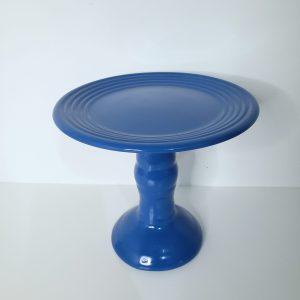 Boleira Cerâmica Alta P cor Azul Roya