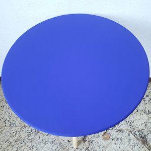 Capa tampo Mesa Pé Palito G Azul Royal