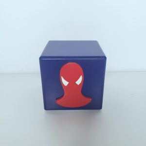 Cubo Decorativo Homem Aranha