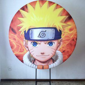 Tecido Sublimado Naruto