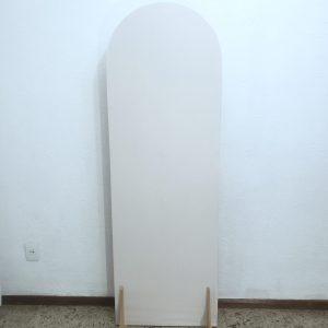 Tecido Para Painel Desconstruído Oval G cor Branco