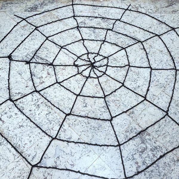 Teia De Aranha Gigante Decoração Halloween
