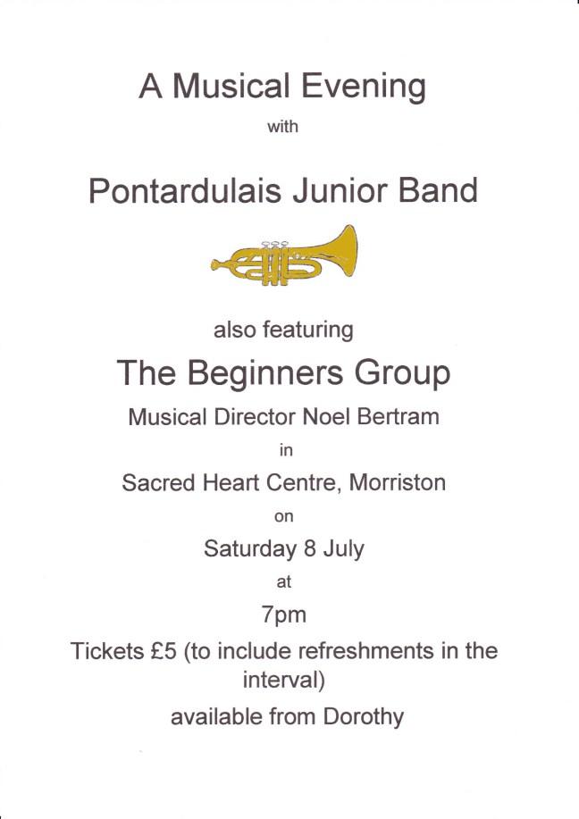 Junior Band Concert July 2017