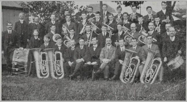 Pontardulais Town Silver Band, 1915