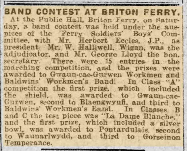 Llansawel 1917